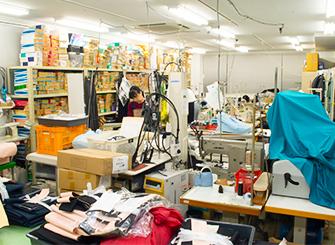 縫製アトリエ
